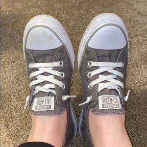 Charcoal Gray Shoreline Slip Converse